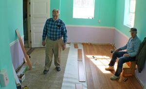 A laminált padló helyes lerakással több évtizedig is kitart