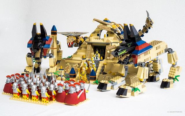 LEGO kocka a fejlődési szakaszokban