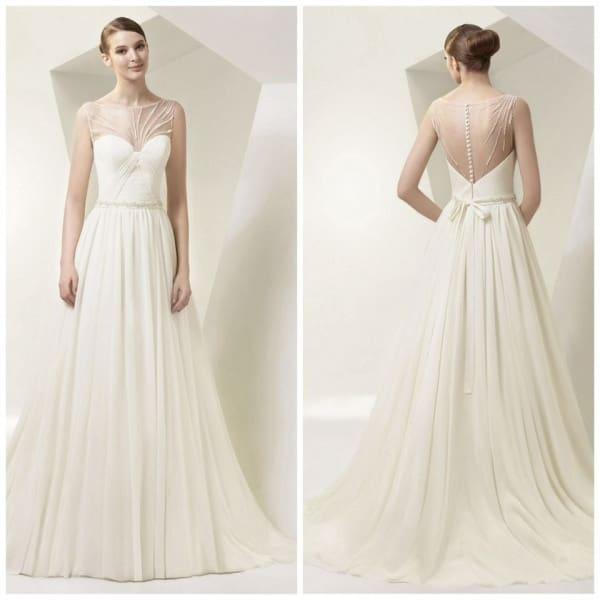 Menyasszonyi ruha a régi korok stílusában