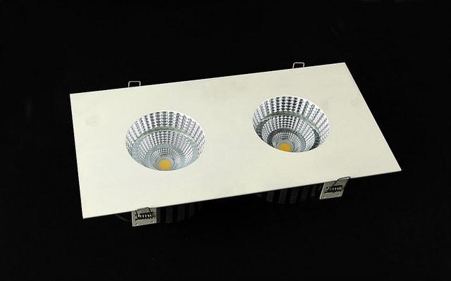 Esztétikus kinézetű LED spot