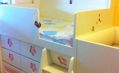 Leesésgátlós gyerekágy a kicsik biztonságáért