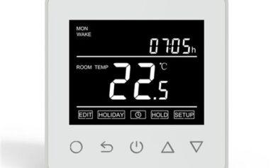 Okos telefonnal vezérelhető wifis termosztátok