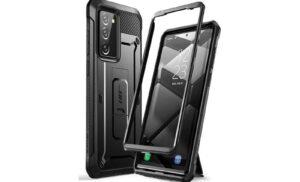 Ütésálló szilikon Galaxy Note 20 tok