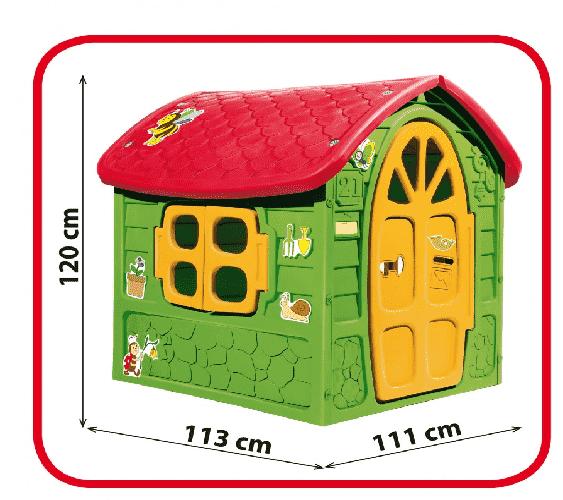 Könnyen felállítható és tartós játék ház