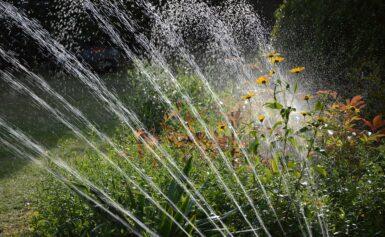 A kerti öntözéstechnika szakszerű tervezése