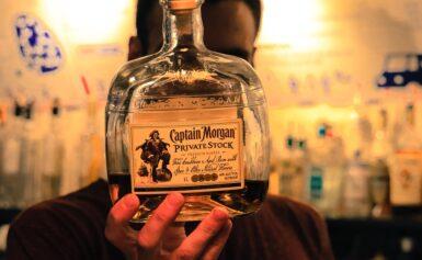 Fűszeres aromájú Captain Morgan rum